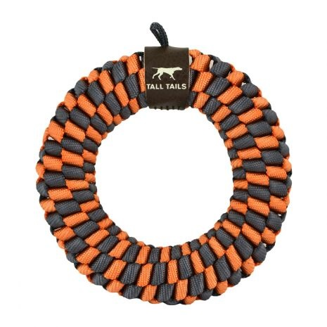 """Tall Tails Tall Tails Braided Ring 5"""" (Orange)"""