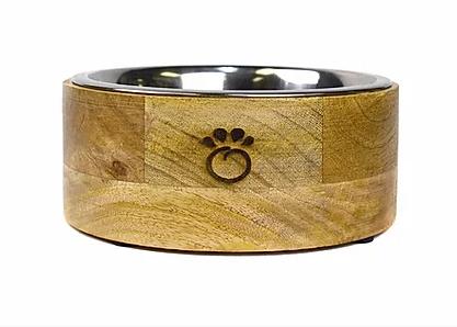 GF Pet Mango Wood Bowl (Large)