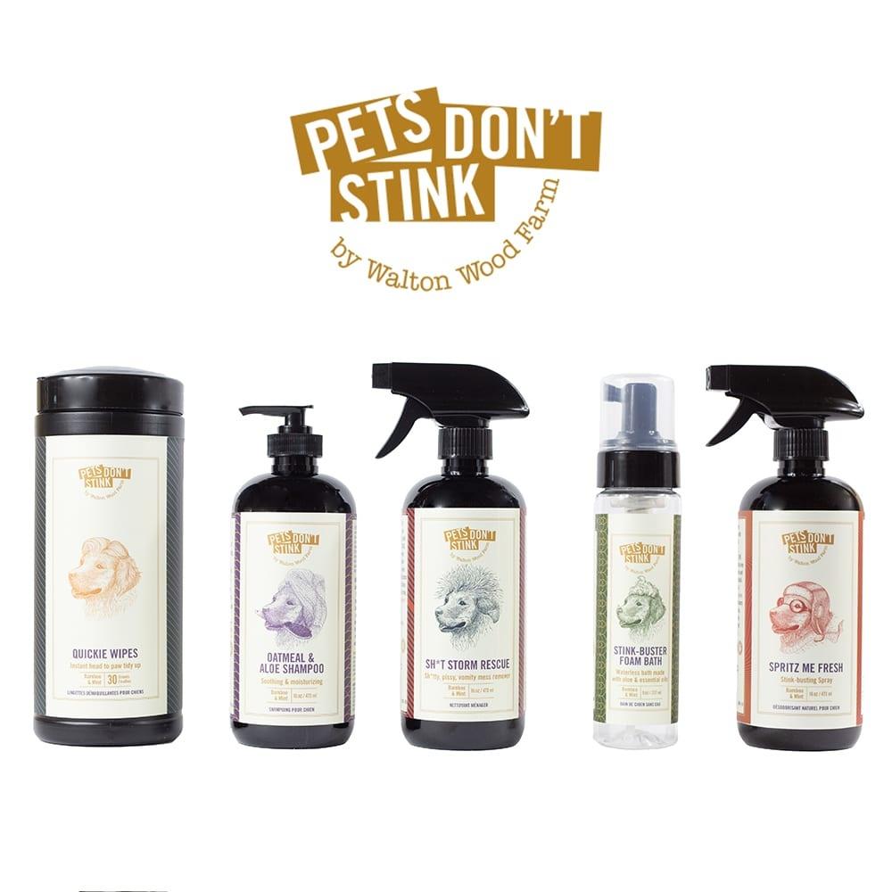Walton Woods Pets Don't Stink - Stink Buster Foam Bath