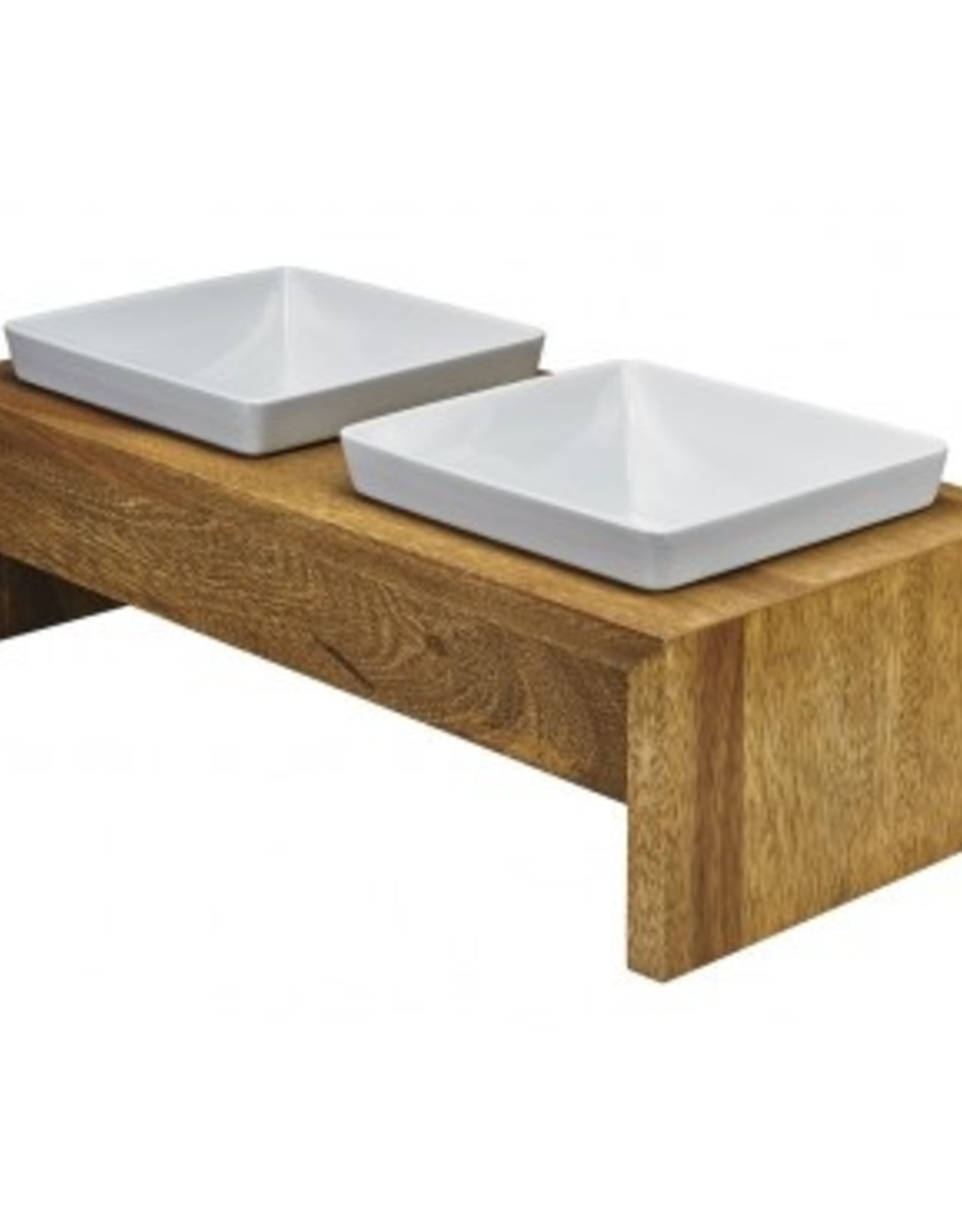 Bowsers Bowsers Artisan Double Bamboo Feeder (Medium)