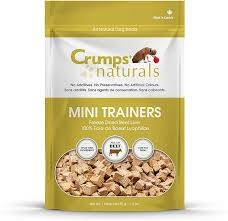 CRUMPS Mini Trainers Beef Liver 3.7 oz