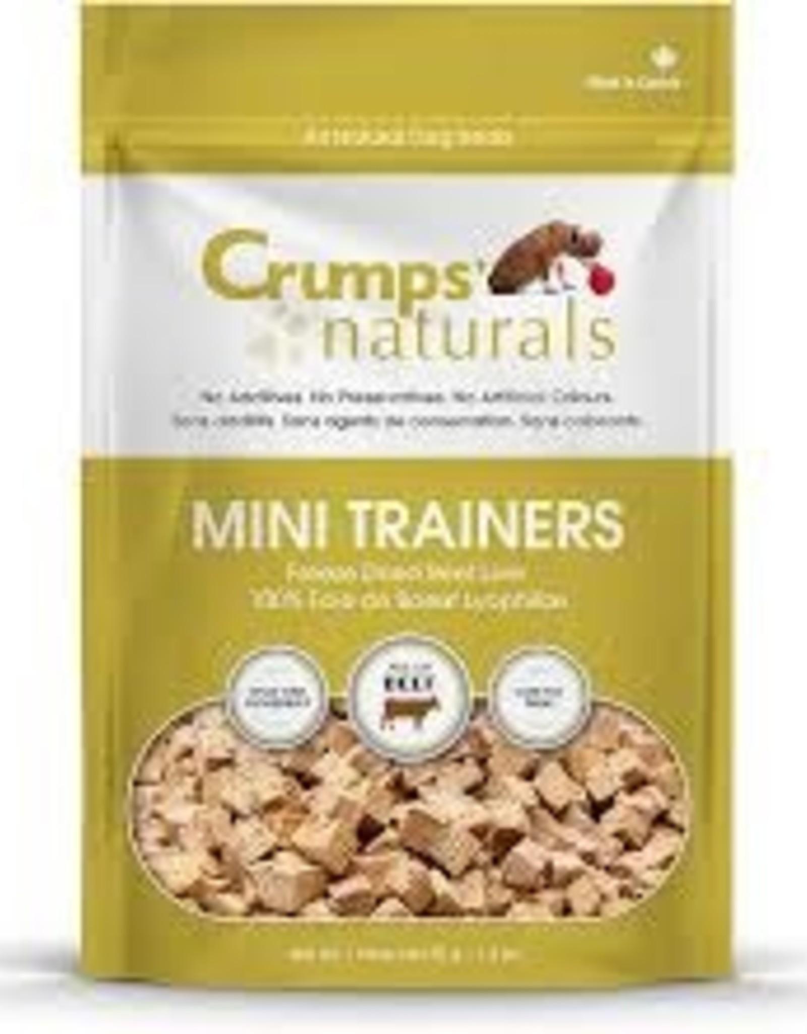 CRUMPS Mini Trainers Beef Liver 1.8 oz