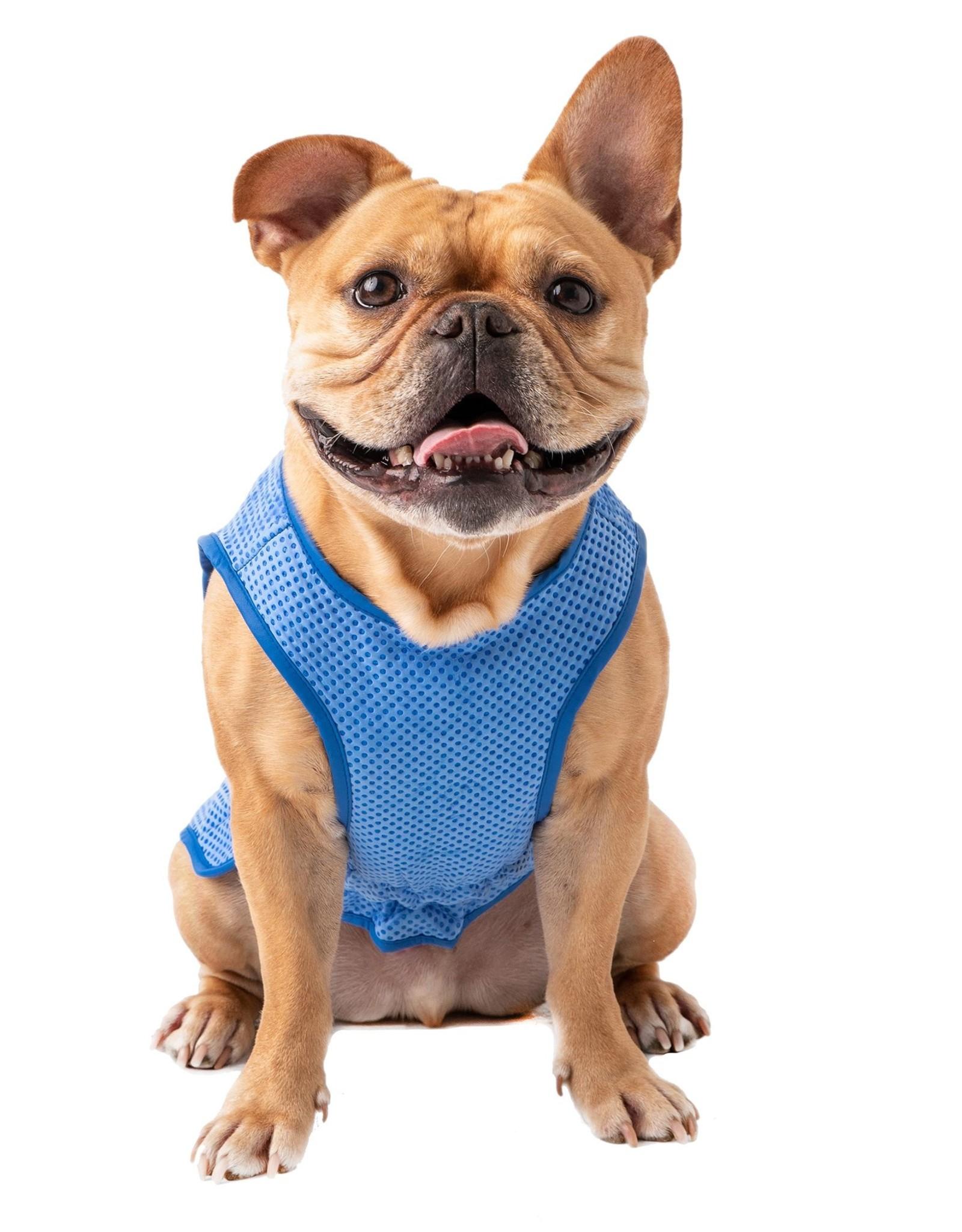 GF PET Ice Vest Blue \ L