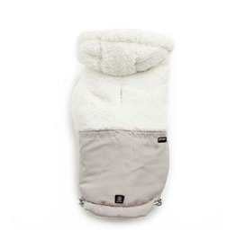 Silver Paw Silver Paw - Quilted Jacket Hoodie Tan L