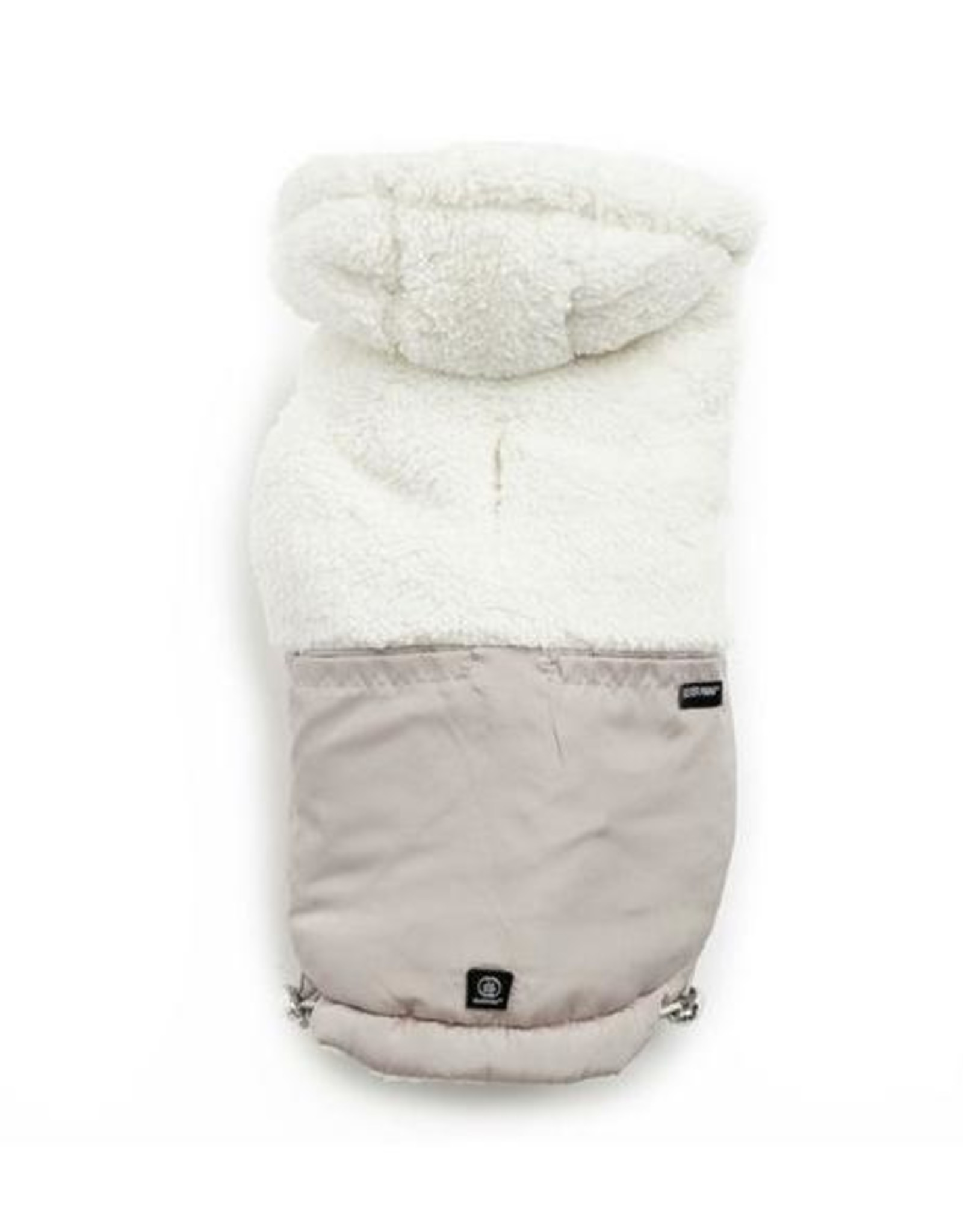 Silver Paw Silver Paw - Quilted Jacket Hoodie Tan S