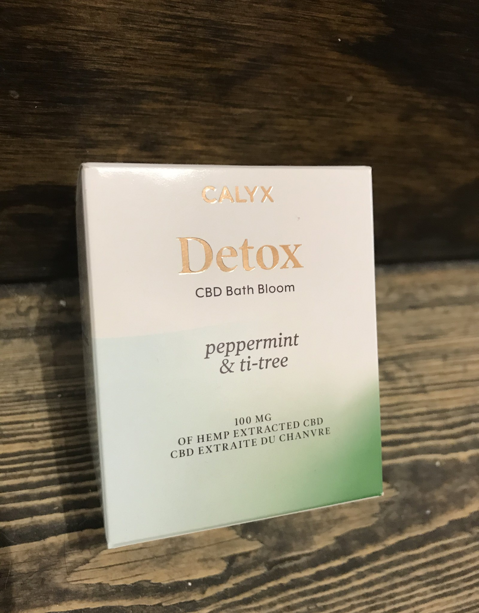 Calyx Calyx Bath Bloom - Detox (Peppermint & Ti-Tree)