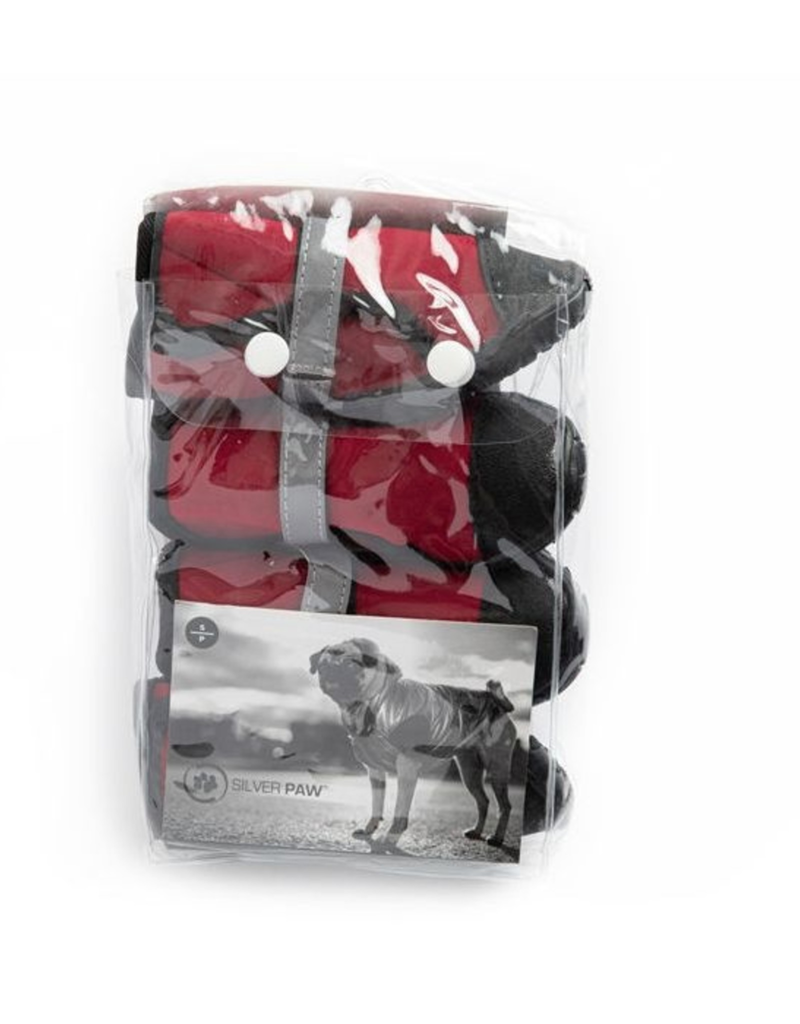 Silver Paw Silver Paw - Easy Fit Neoprene Dog Boots M (Red)