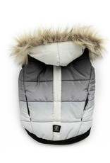 Silver Paw Silver Paw - Quilted Puffer Jacket  Grey  M