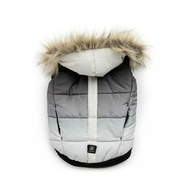 Silver Paw Silver Paw - Quilted Puffer Jacket Grey L