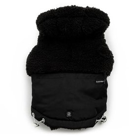 Silver Paw Silver Paw - Quilted Jacket Hoodie Black M