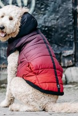 Silver Paw SILVER PAW - Red Quilted Puffy Jacket - M