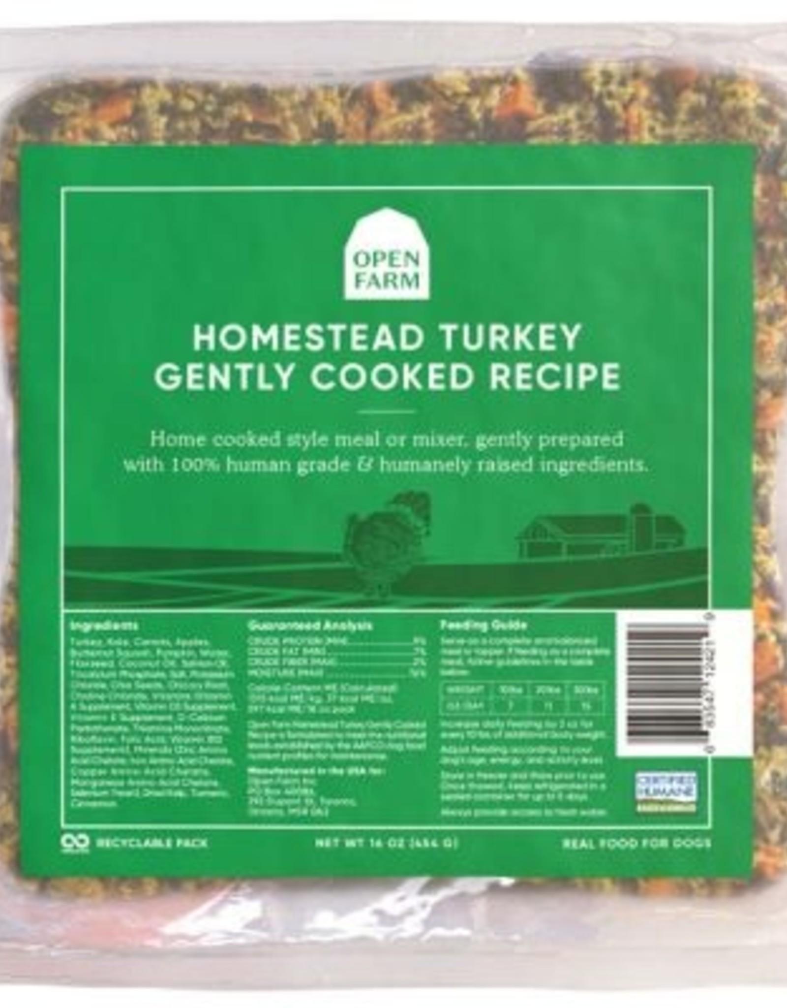 Open Farm Open Farm Gently Cooked Turkey 6x12oz