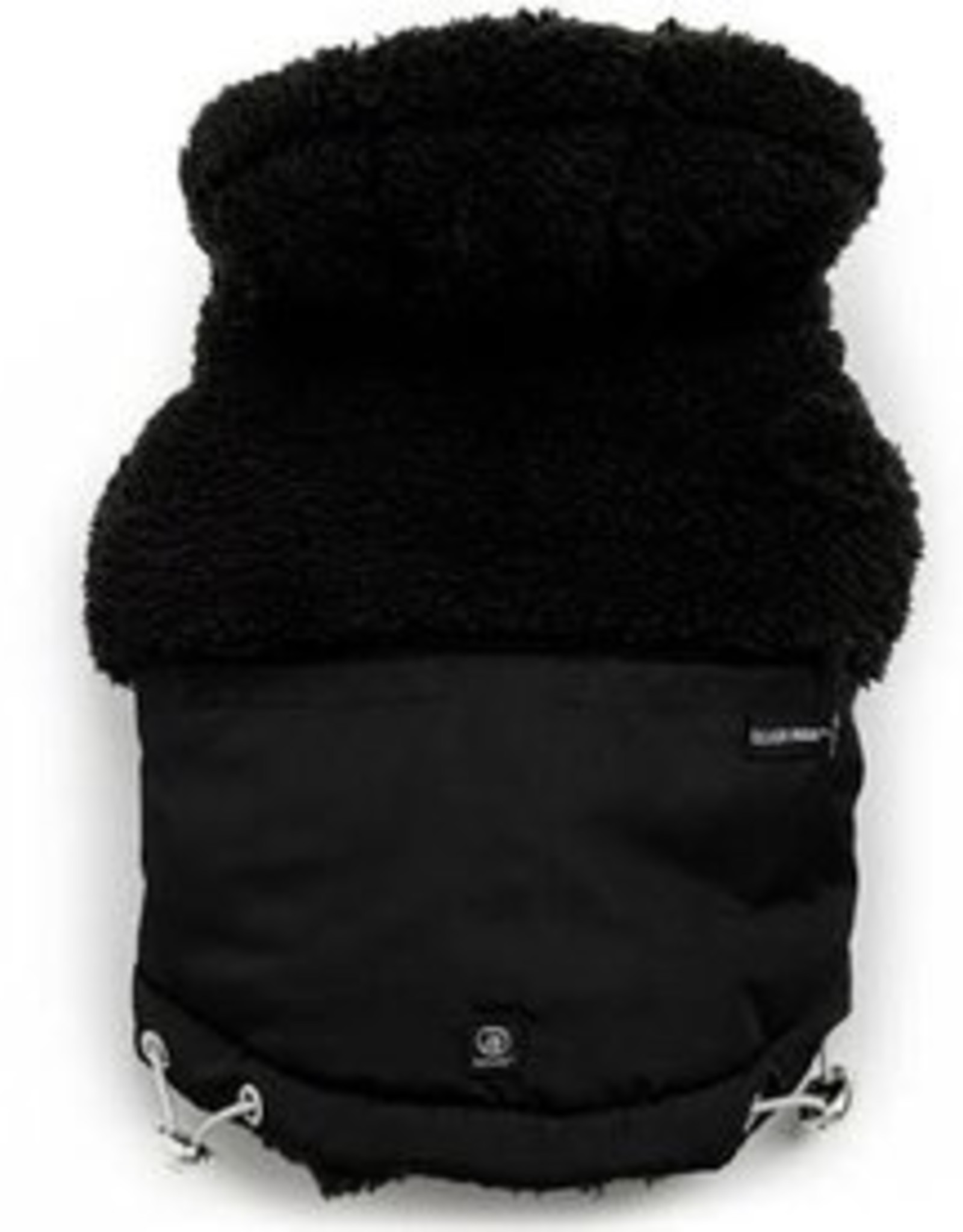 Silver Paw Silver Paw - Quilted Jacket Hoodie Black