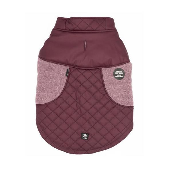 Silver Paw Silver Paw Silver Paw - Quilted Jacket Faux Leather Fig
