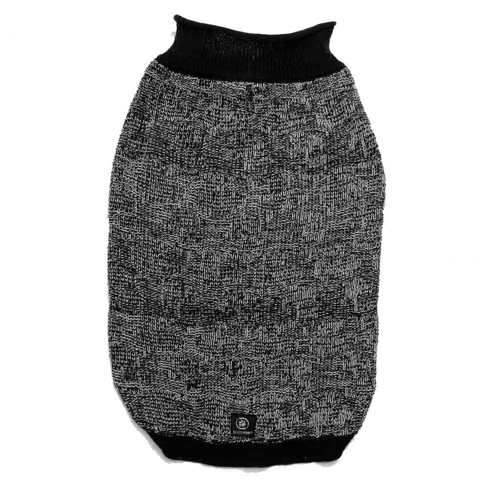 Silver Paw Silver Paw - Roll Neck Sweater Black