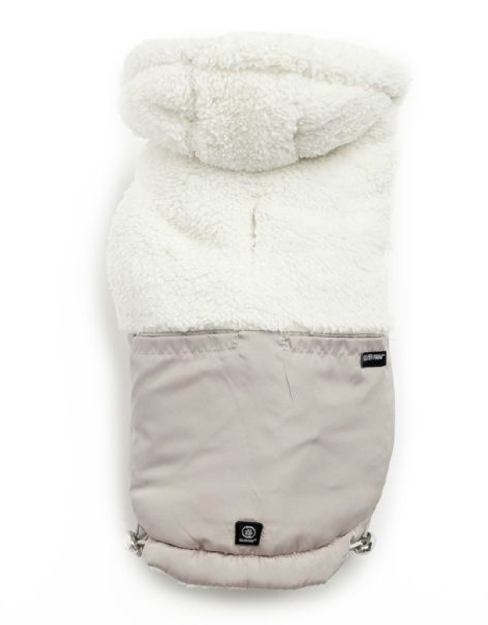 Silver Paw Silver Paw Quilted Hoodie Jacket Tan