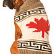 Chilly Dog Maple Leaf  Wool Sweater