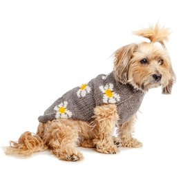 Chilly Dog Daisy Wool Sweater