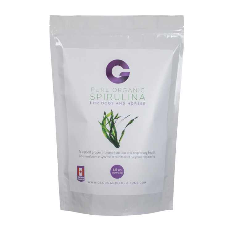 G's G's Organic Spirulina for Dogs and Horses 1.5kg