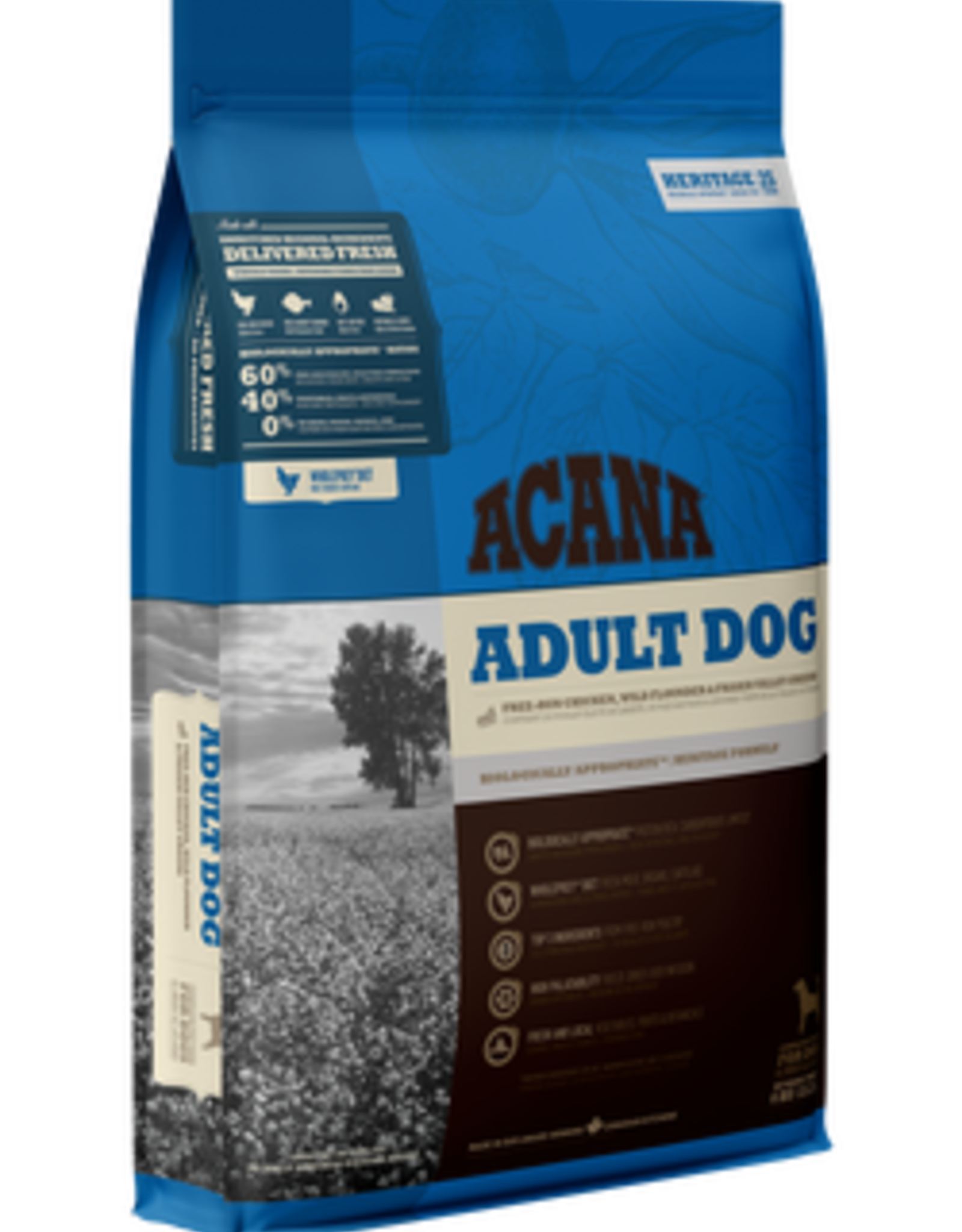 Acana Acana Adult Dog - Chicken, Flounder & Greens 340g