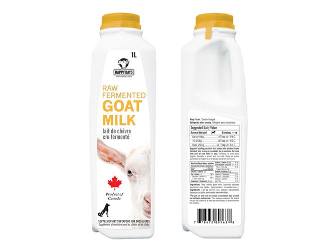 Happy Days Dairy Happy Days Raw Fermented Goat Milk