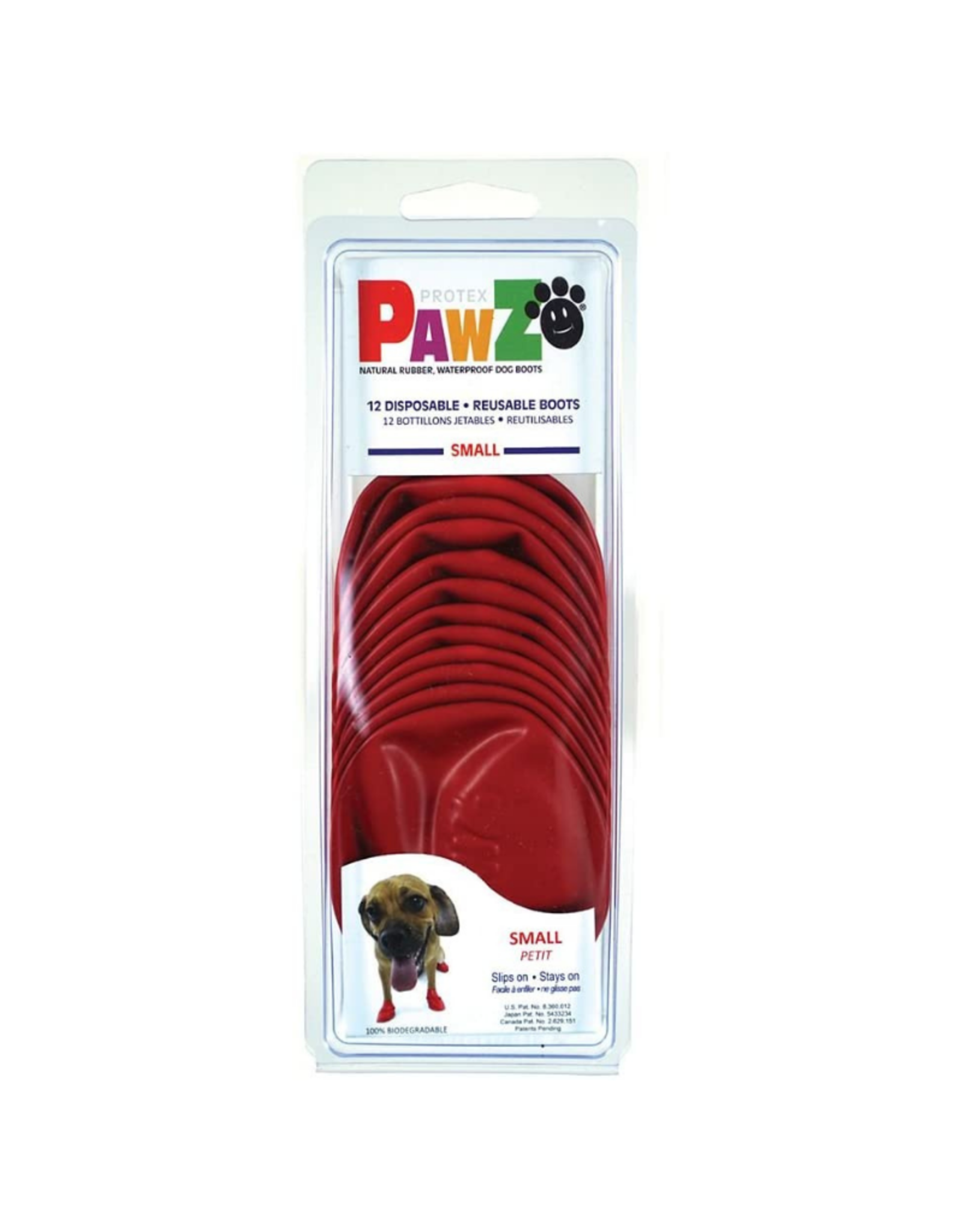 PAWZ Natural Rubber Waterproof Dog Boots