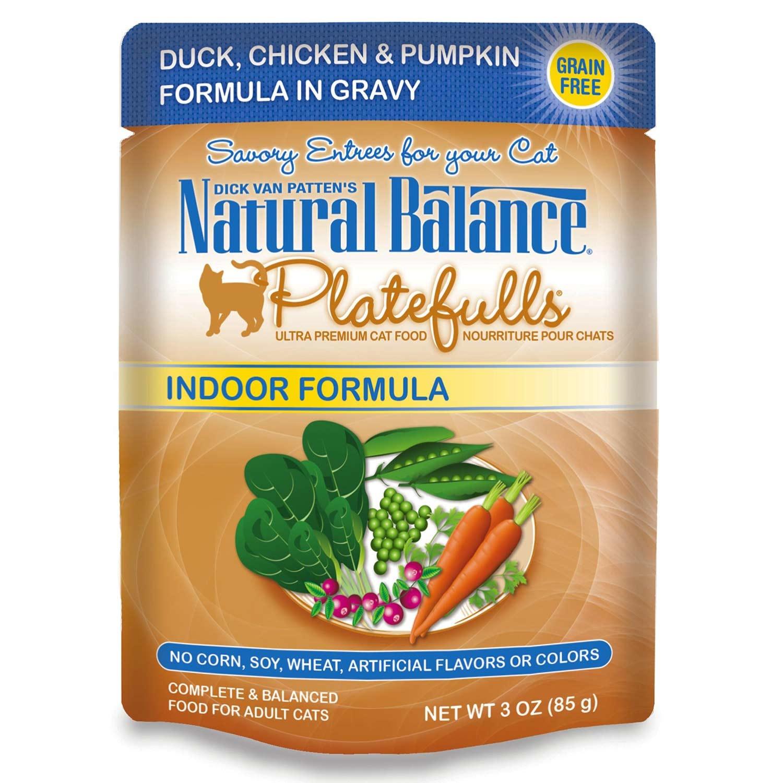 NATURAL BALANCE PET FOODS INC NB Platefulls / Indoor / Duck, Chicken & Pumpkin 3oz
