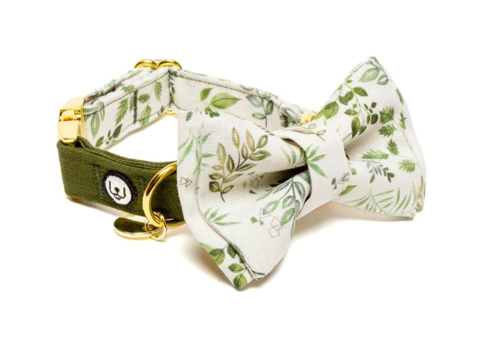 Eat Play Wag Eat Play Wag - Desert Fern Bow Tie Small