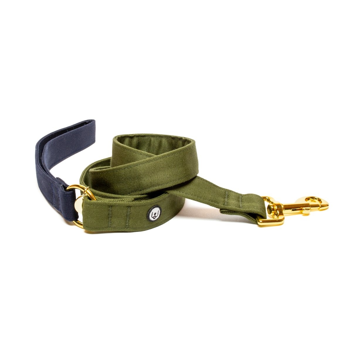 Eat Play Wag Eat Play Wag - Navy Olive Leash