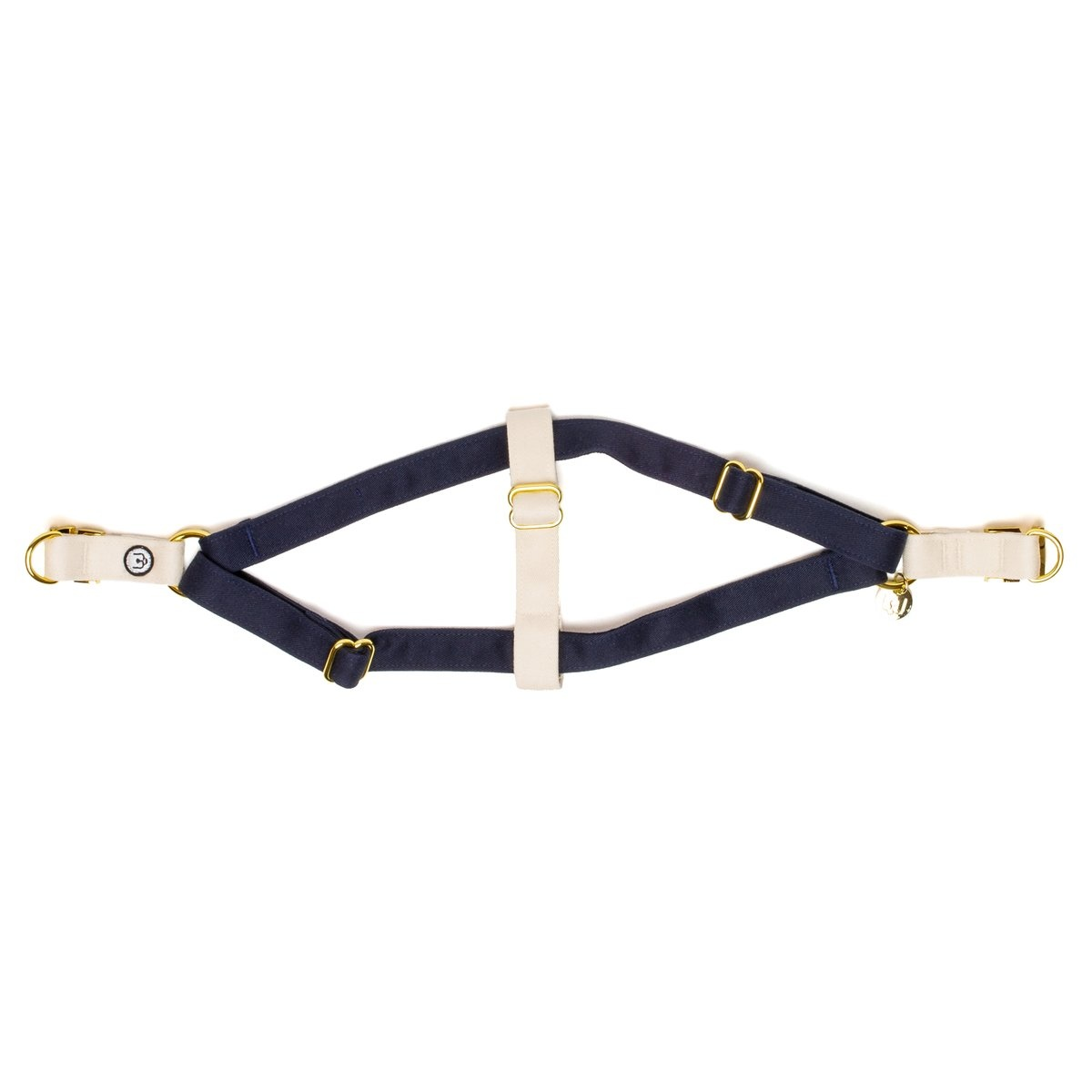 Eat Play Wag Eat Play Wag - Navy Ivory Step-In Harness