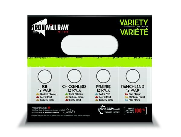 Iron Will Iron Will Chickenless Variety Pack 12 x 1 lb