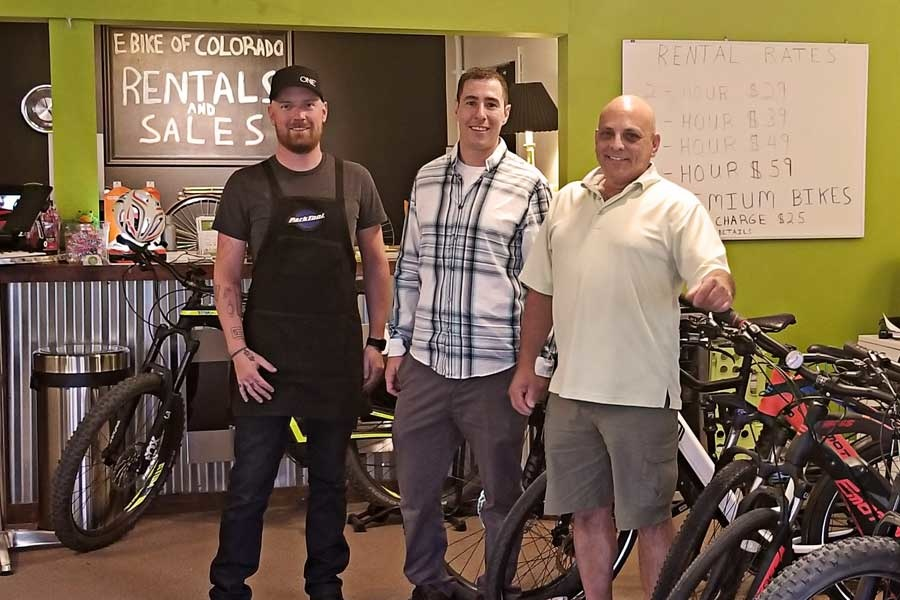 the e-bike of Colorado Team