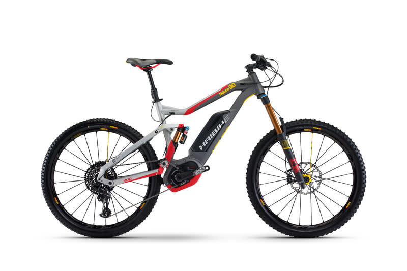 Haibike XDuro NDuro 9 0 | Full Suspension E-Mountain Bike