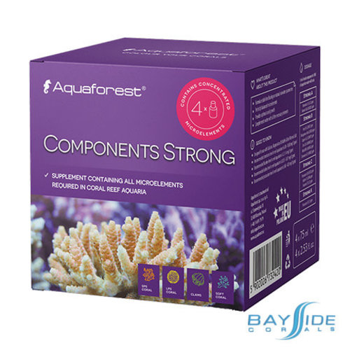 Aquaforest AF Components Strong | 4x75ml