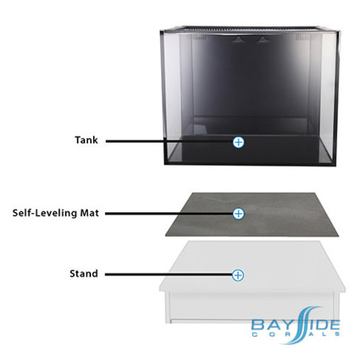 "Innovative Marine IM DIY Self-Leveling Aquarium Mat | 72""x24"""