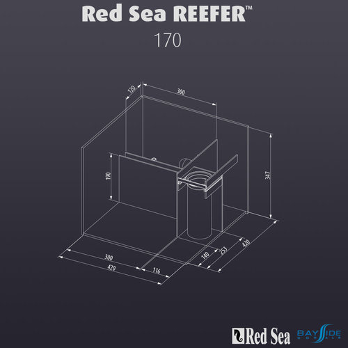 Red Sea Red Sea REEFER 170 | White