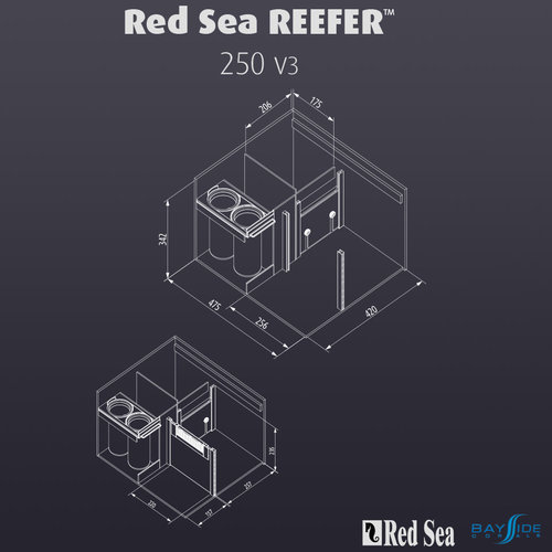 Red Sea Red Sea REEFER 250 | White