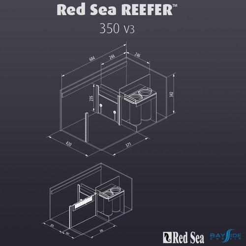 Red Sea Red Sea REEFER 350   Black