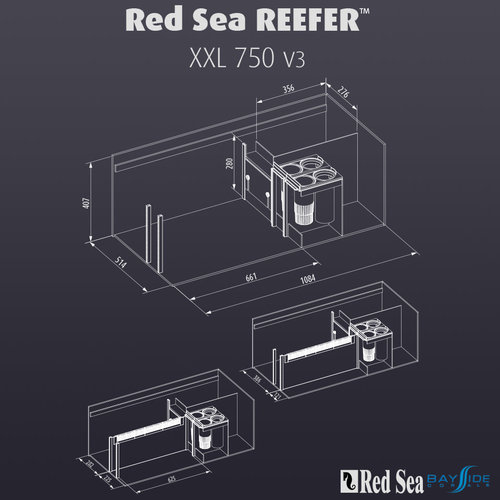 Red Sea Red Sea REEFER 750 XXL v3 | Black
