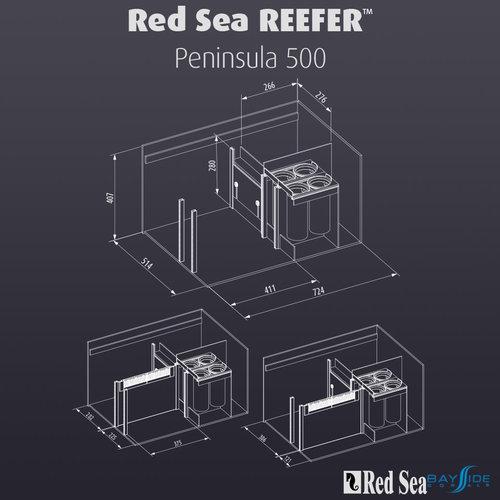 Red Sea Red Sea REEFER 500 Peninsula | White