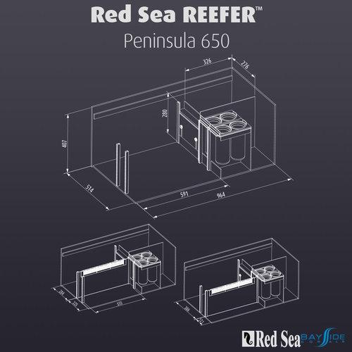 Red Sea Red Sea REEFER 650 Peninsula | White