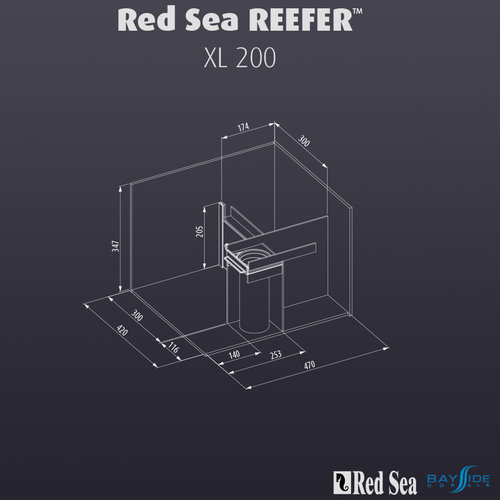Red Sea Red Sea REEFER 200 XL | White