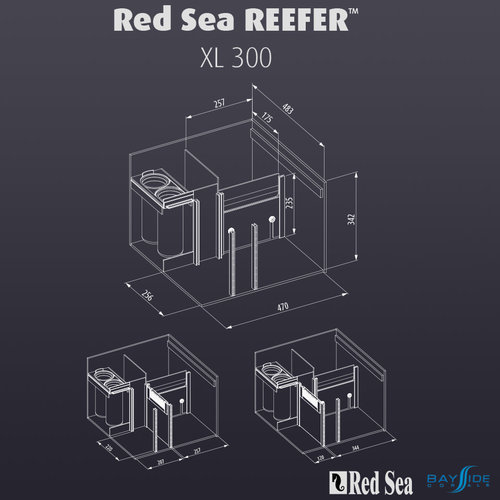 Red Sea Red Sea REEFER 300 XL | White