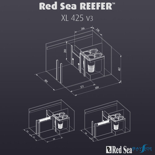 Red Sea Red Sea REEFER 425 XL   White