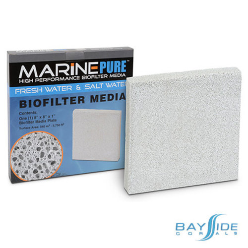 "MarinePure Biofilter Plate | 8x8x1"""