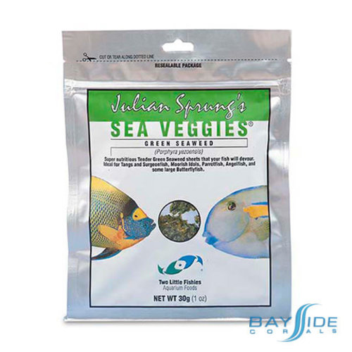 Two Little Fishies SeaVeggies Green | 30g