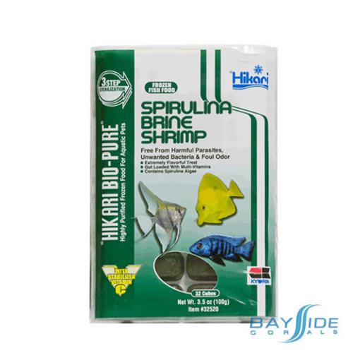 Hikari Brine Shrimp Spirulina Flat Pack | 16oz