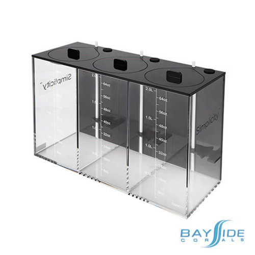 Simplicity Dosing Container | 3x 2.0l