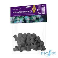 Plug Rocks Black | 24pk