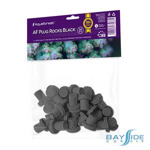 Aquaforest Plug Rocks Black | 24pk
